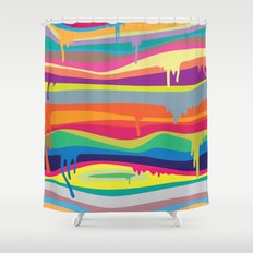 The Melting Shower Curtain