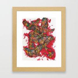 Blind Birds 3 Framed Art Print