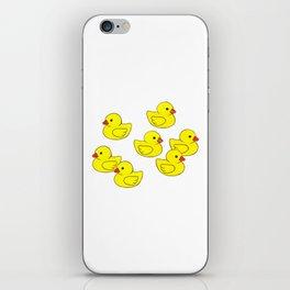 Oh Ducks! iPhone Skin