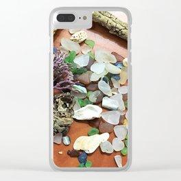 SeaglassBeachcomber Clear iPhone Case