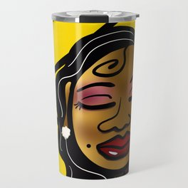Sista Sunflower Travel Mug