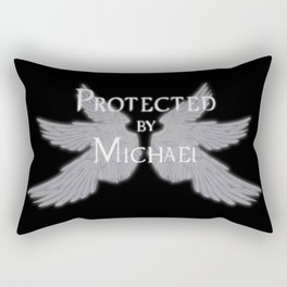Protected by Michael Rectangular Pillow