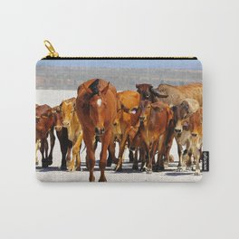 Leading the mob home Carry-All Pouch