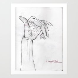 Its always like this. Art Print