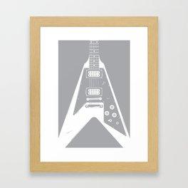 Flying-V Framed Art Print