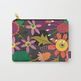 Jungle Flowers Carry-All Pouch