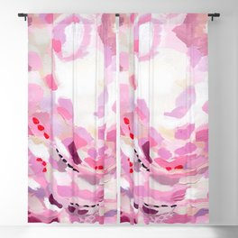 Stay Abstract Blackout Curtain