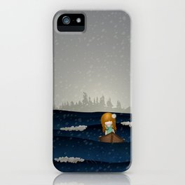 Cicily to The Sea iPhone Case