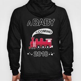 A baby is coming Hoody