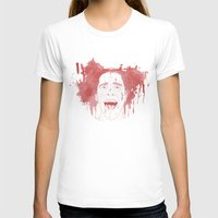 patrick T-shirts featuring Patrick Bateman by Itxaso Beistegui Illustrations