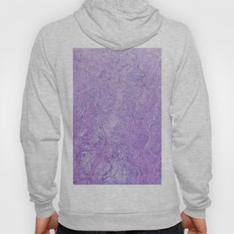 Lilac waves Hoody