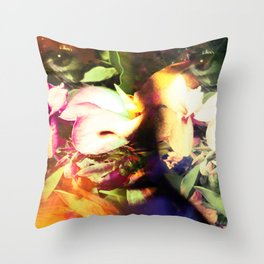 """Prince Of Spring: Remixed 7"" Throw Pillow"
