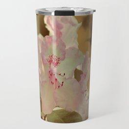 Pink Rhdodendron Travel Mug