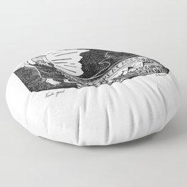 Fake God Floor Pillow