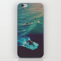 Ride the Wave iPhone Skin