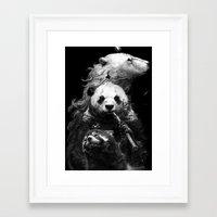 bears Framed Art Prints featuring bears by kian02