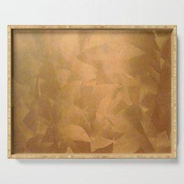 Beautiful Copper Metal - Corporate Art - Hospitality Art - Modern Art Serving Tray