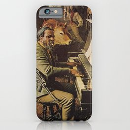 Reproduction Jazz Poster,Thelonious Monk  Underground iPhone Case