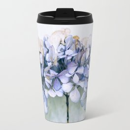Delicate Hydrangea Travel Mug