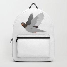 Funny Cartoon Pigeon Backpack