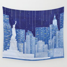 New York, Statue of Liberty Wall Tapestry