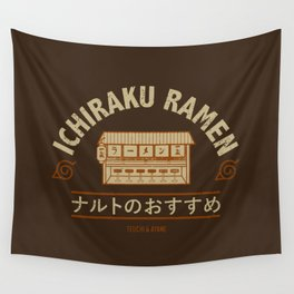 Ichiraku Ramen Brown V.2 Wall Tapestry