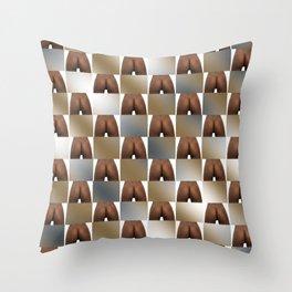 Butt Board Throw Pillow