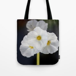 White blooming flower Tote Bag