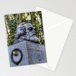 Karl Marx Memorial Stationery Cards