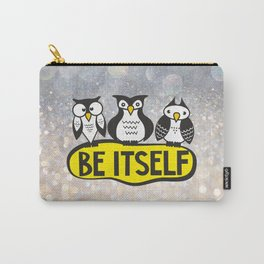 Owls. Be itself Carry-All Pouch