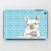 bulldog iPad Cases featuring Bulldog by Paint Your Idea