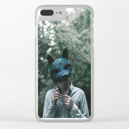 Foxman Clear iPhone Case