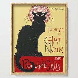 Tournee Du Chat Noir - 1896 Poster Serving Tray