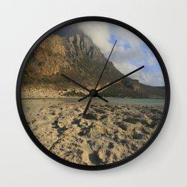 Crete, Greece Wall Clock