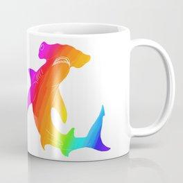 Rainbow hammerhead Coffee Mug