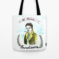 valentine Tote Bags featuring Valentine by Sreetama Ray