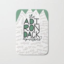 The Adirondack Mountain High Peaks Bath Mat