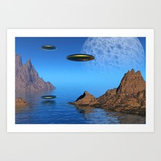 It's a Great Day For Flying Art Print