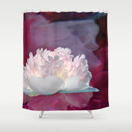 Peony Reflections Shower Curtain