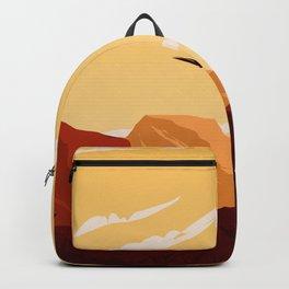 West Texas Landscape Backpack