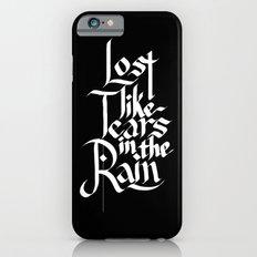 Like Tears In The Rain Slim Case iPhone 6s