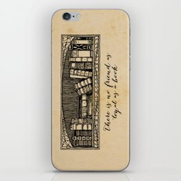 Hemingway - No Friend as Loyal as a Book iPhone Skin