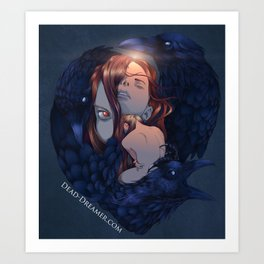 To Dream is to Die - Brenna Whit - Colored Art Print