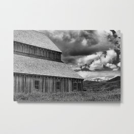 Historic Tate Barn Metal Print