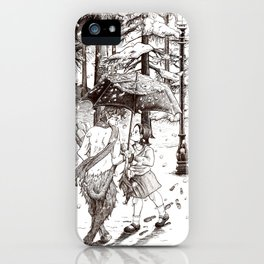 The Lion, the Witch and the Wardrobe iPhone Case
