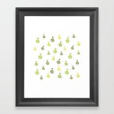 Roots Pattern Framed Art Print