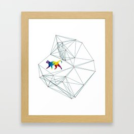 Cats Universe Framed Art Print