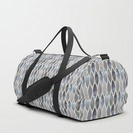 Metallic Armour Duffle Bag