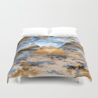egypt Duvet Covers featuring EGYPT by sametsevincer