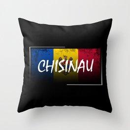 Chisinau Throw Pillow